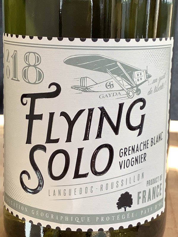 Flying Solo, Domaine Gayda<br>