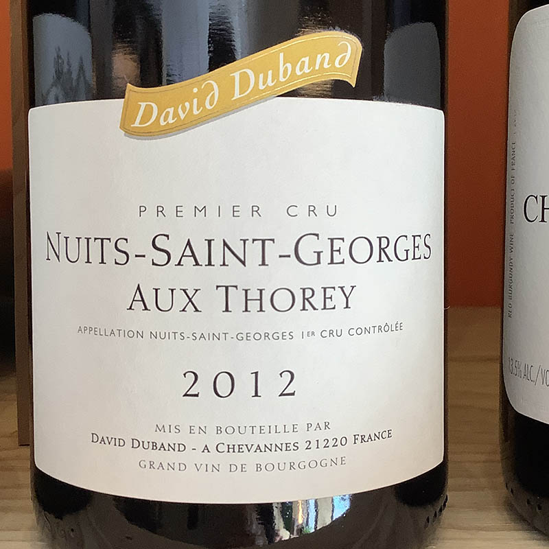 Nuits St Georges 1er Crû